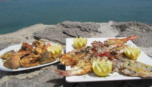 кухня Тенерифе морепродукты