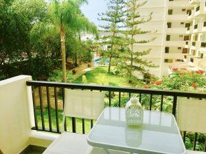 балкон дизайн отдых