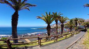 пляж отдых Тенерифе