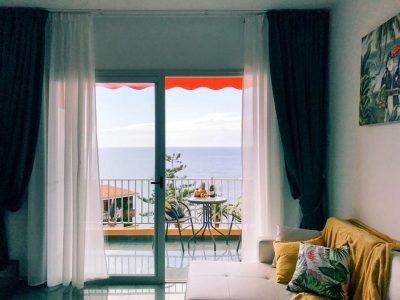 Апартаменты с видом на океан Тенерифе/ Пуэрто-де-Сантьяго квартира с видом на море
