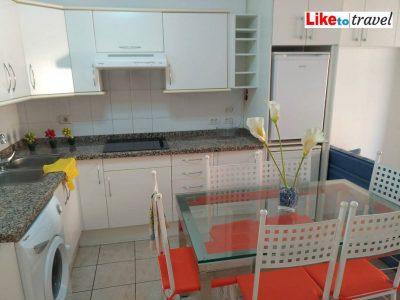 Апартаменты в Пуэрто де Сантьяго 50m2 мебель