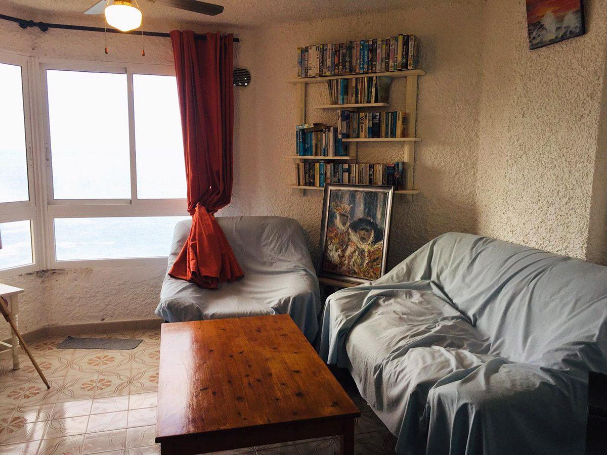 Уютная квартира с видом на океан в Los Silos комната с видом на море