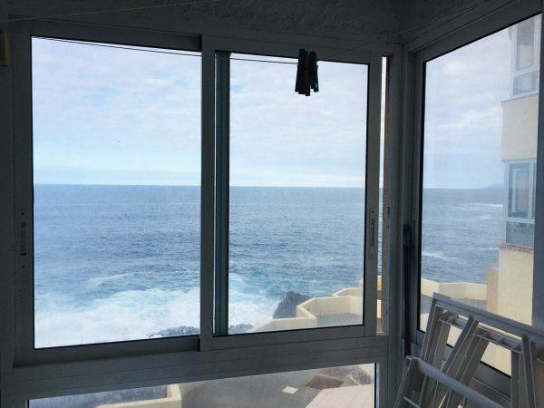 Уютная квартира с видом на океан в Los Silos вид на море