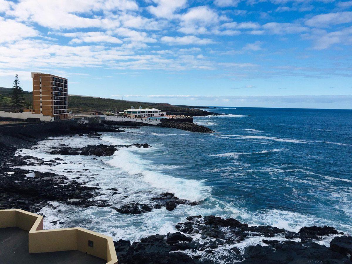 Уютная квартира с видом на океан в Los Silos вид с окна