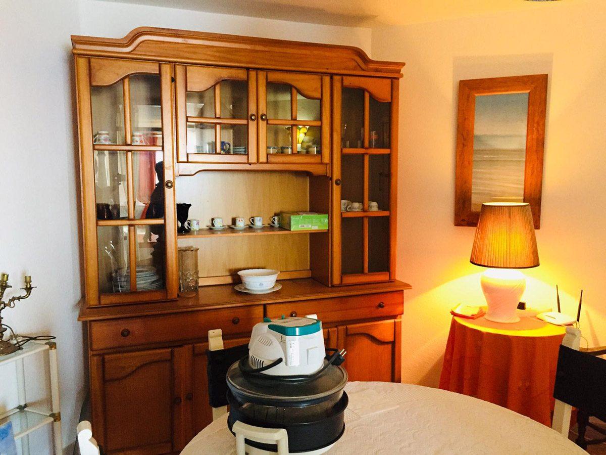 Уютная квартира с видом на океан в Los Silos мебель