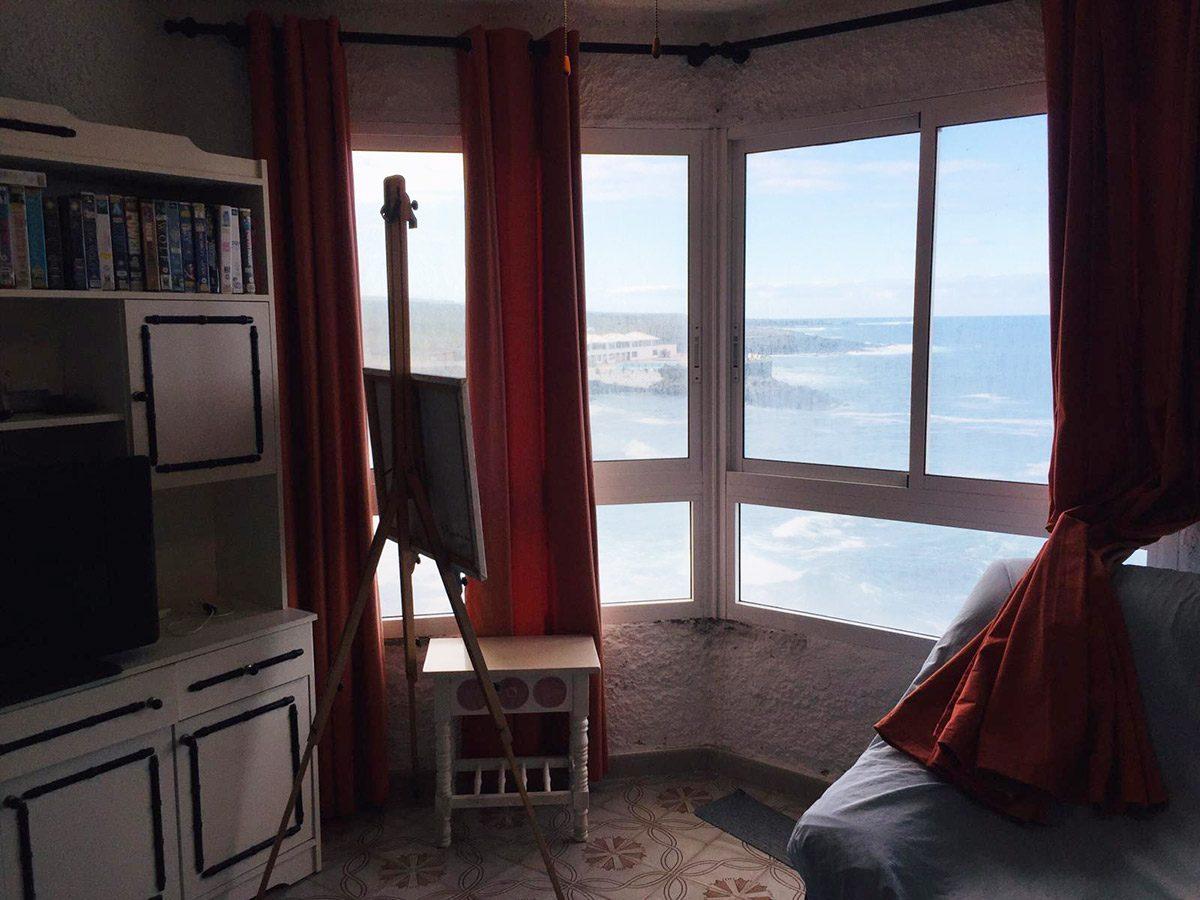 Уютная квартира с видом на океан в Los Silos квартира с видом на океан