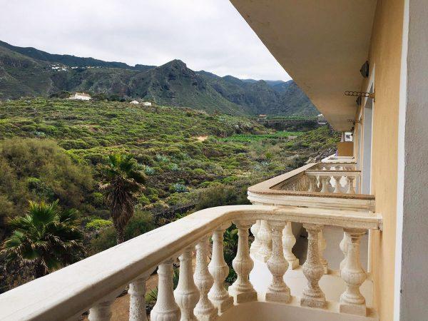 Квартира в Los Silos с видом на океан вид с балкона
