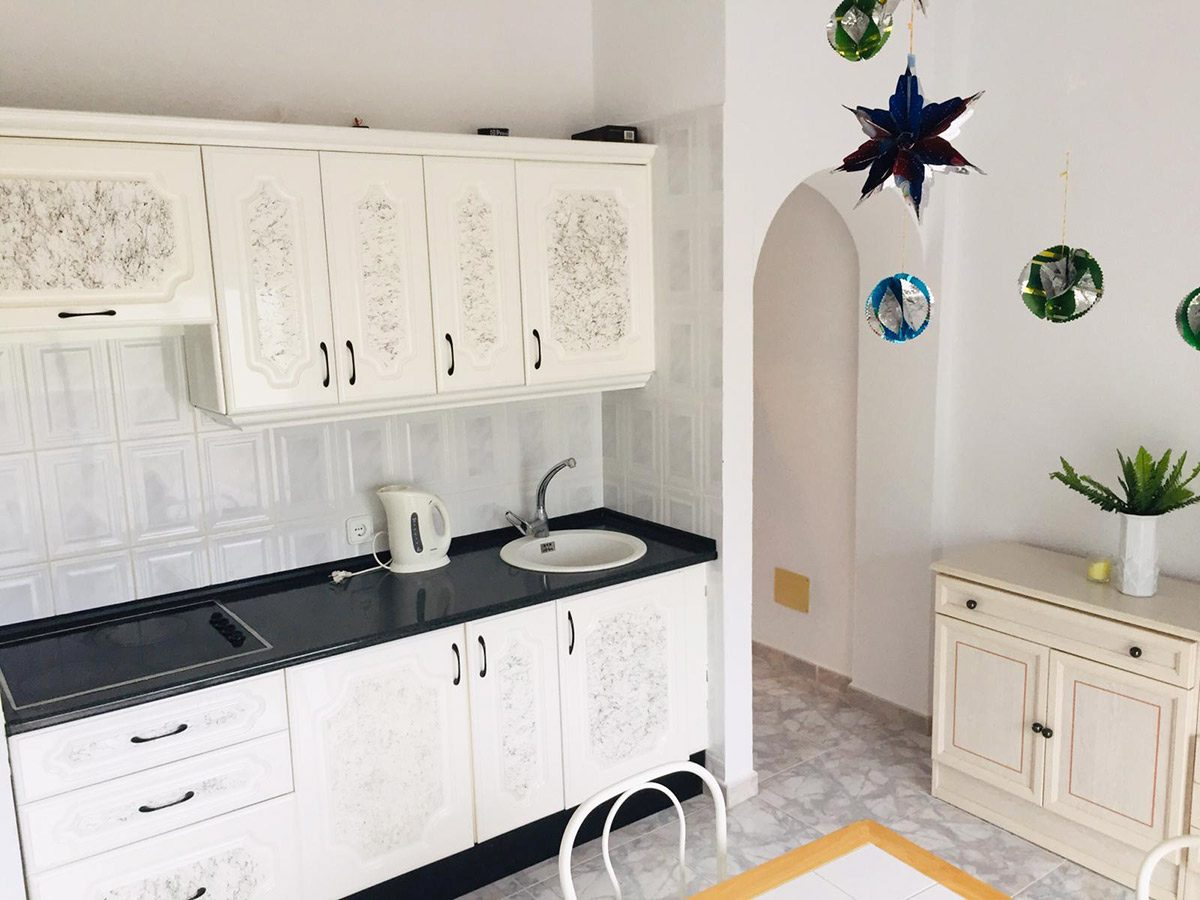 Квартира в Los Silos с видом на океан кухонная мебель