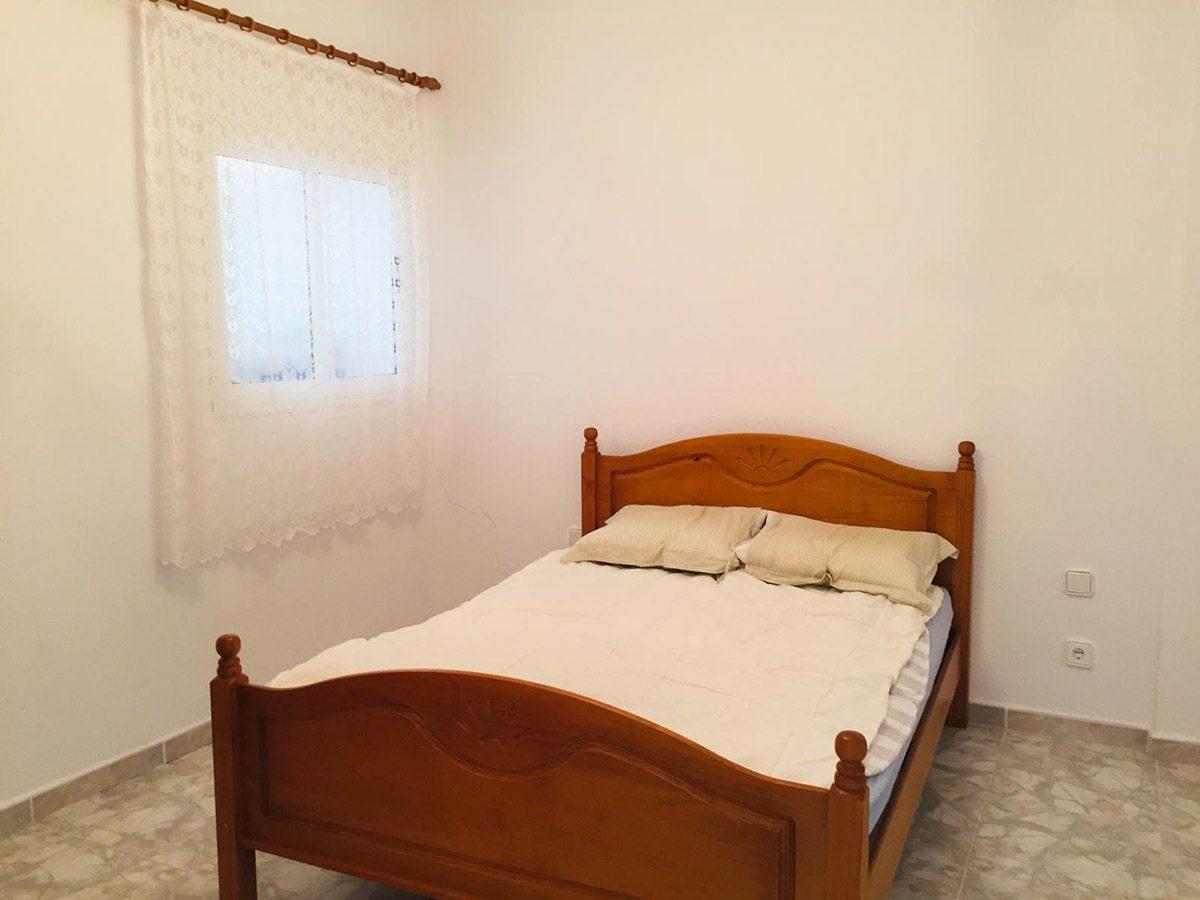 Квартира в Los Silos с видом на океан спальня
