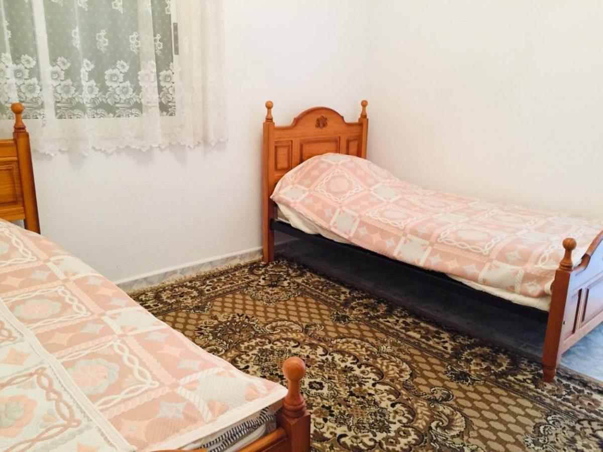 Квартира в Los Silos с видом на океан кровати