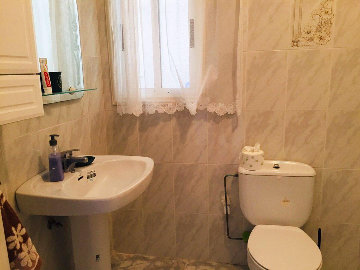 Квартира в Los Silos с видом на океан ванная комната