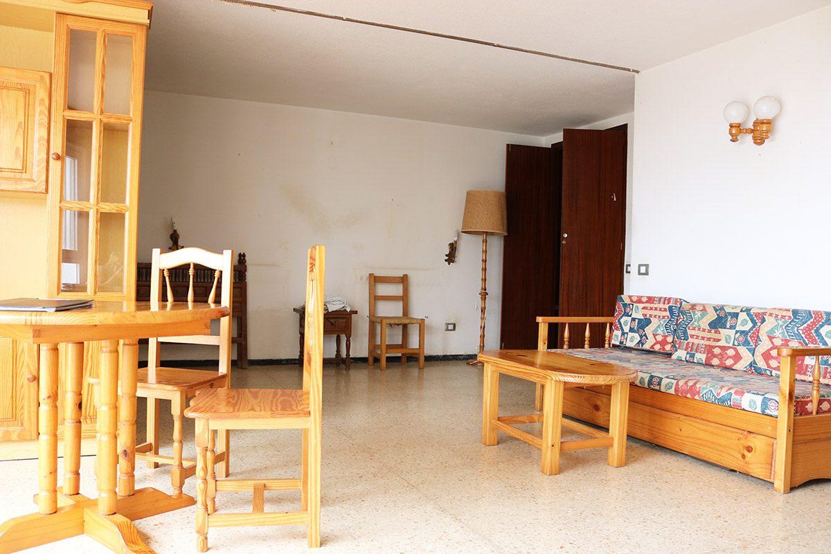 Апартаменты 72 m2 в La Matanza /Tenerife большая гостиная