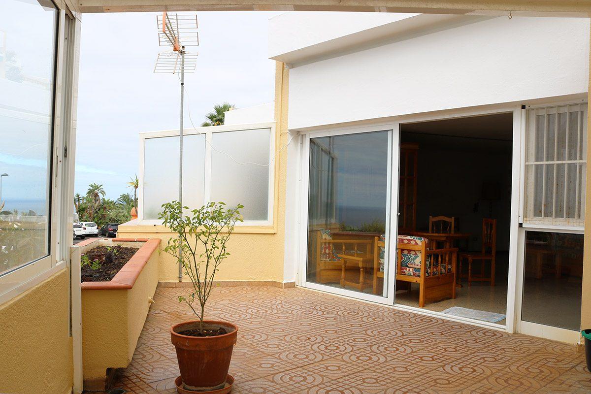 Апартаменты 72 m2 в La Matanza /Tenerife терраса