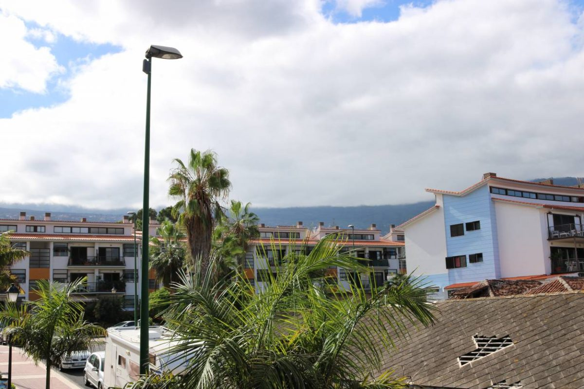 Апартаменты-Студия в Puerto De La Cruz красивый вид