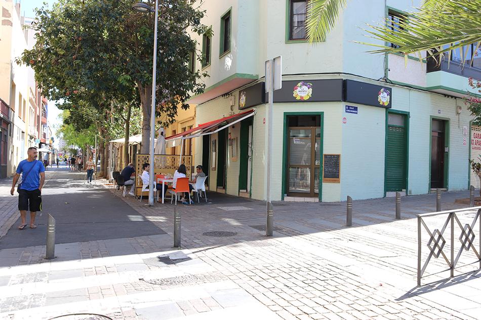 Бар в Санта Круз де Тенерифе
