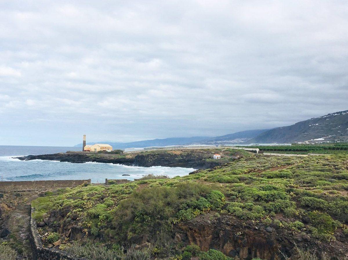 Квартира в Los Silos с видом на океан красивый пейзаж