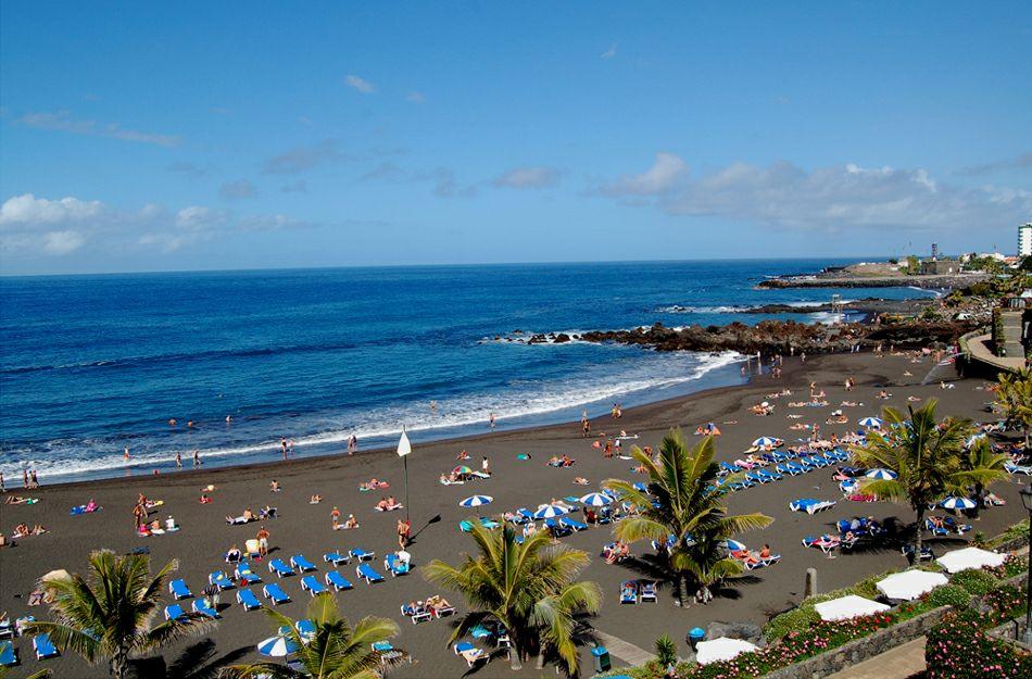 Апартаменты-Студия в Puerto De La Cruz пляж