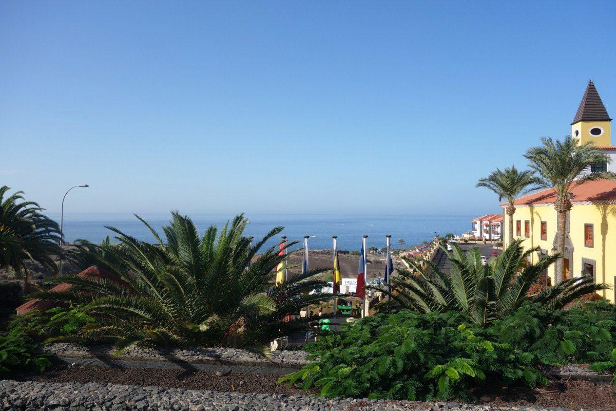 Уютная Вилла с бассейном в Adeje, Playa Paraiso вид на океан