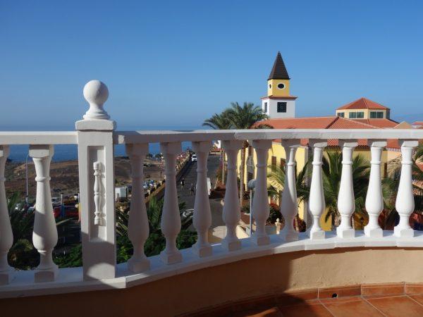 Уютная Вилла с бассейном в Adeje, Playa Paraiso вид с террасы