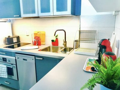 Апартамент в Las Americas в комплексе El Dorado кухня