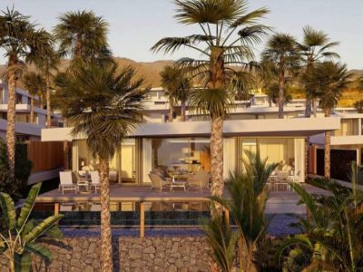 Элитная вилла Villas del Tenis с частным бассейном в Абама