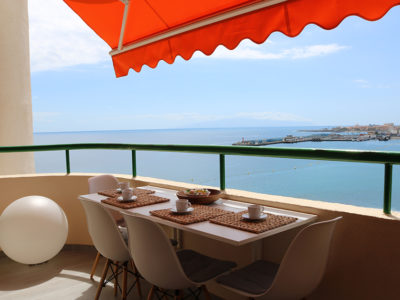 Апартамент с видом на океан в Costa Mar/Los Cristianos